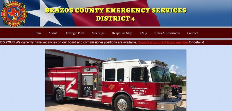 Brazos County Emergency Service Board No. 4