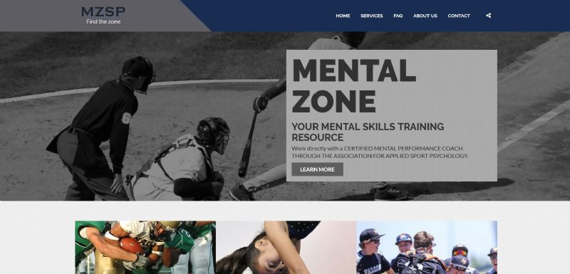 Mental Zone Sport Psychology