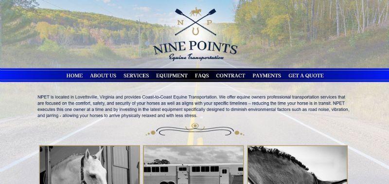 Nine Points Equine Transportation